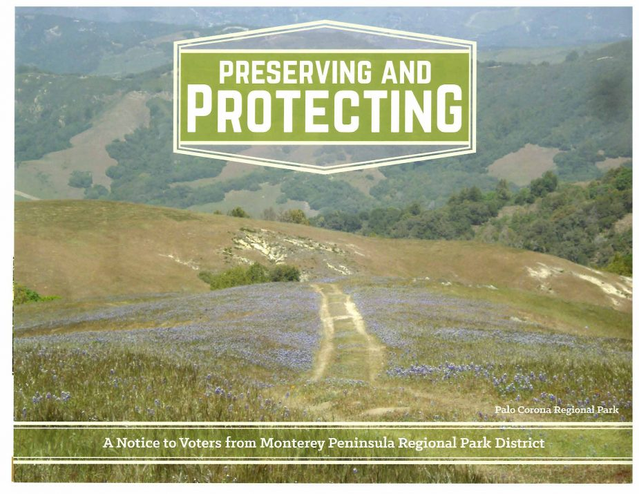 Monterey Peninsula Regional Park District Mailer Front July 7 2016